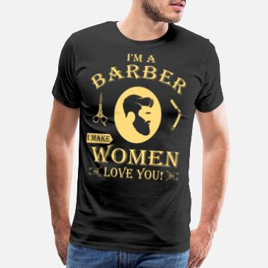 This Guy is an Awesome Barber Tee Shirt Design Long Sleeve Shirt