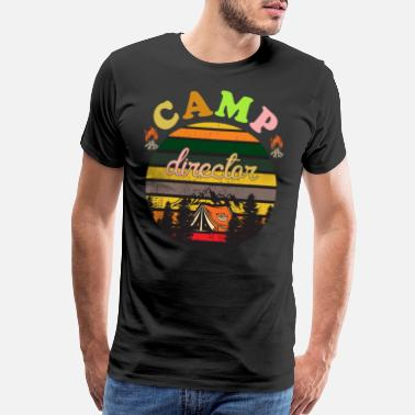 Camp camp director - Men's Premium T-Shirt