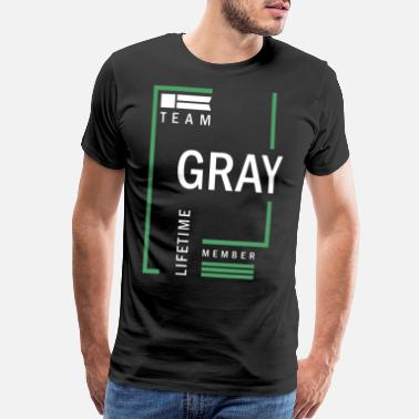 Member Team Gray Lifetime - Men's Premium T-Shirt