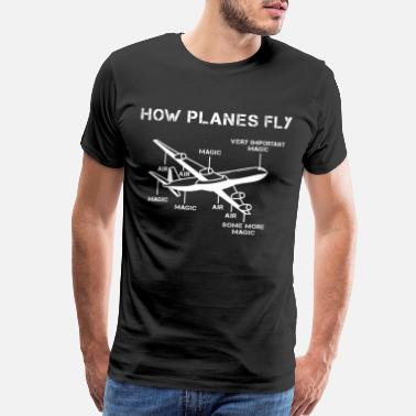 Aerospace Engineering Aeronautical engineering - Men's Premium T-Shirt