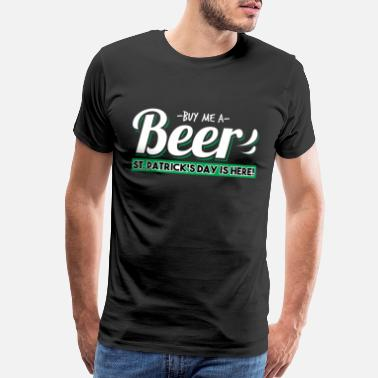 Big Boy Buy Me A Beer Gift & T-Shirt - Men's Premium T-Shirt