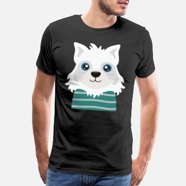 North Pole Arctic Fox - Men's Premium T-Shirt