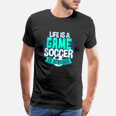 Striker Soccer - Men's Premium T-Shirt