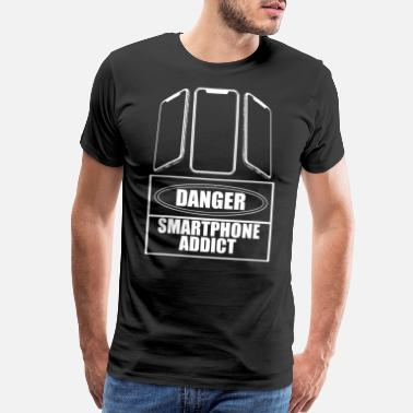 Tablet Smartphone Addict - Men's Premium T-Shirt