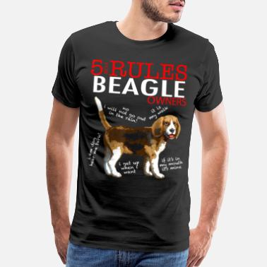 Beagle Best Gift For Beagle Owners, Beagle Lover, T shirt - Men's Premium T-Shirt