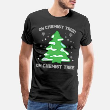 If Involves Oh chemist tree Christmas gift - Men's Premium T-Shirt