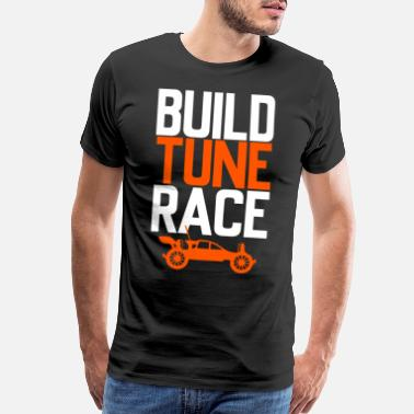 Handset Tune Race gift - Men's Premium T-Shirt