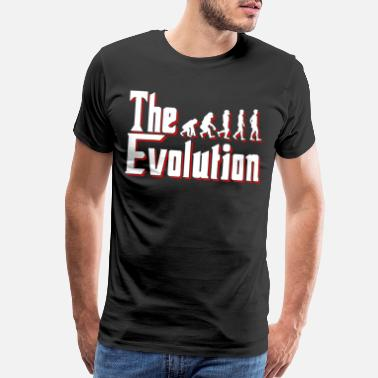Ape Man Evolution of man - Men's Premium T-Shirt