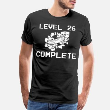 26 Birthday Level 26 Complete 26 Birthday Gamer Gaming - Men's Premium T-Shirt