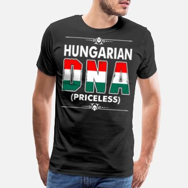 Hungarian Girl Hungarian DNA Priceless - Men's Premium T-Shirt