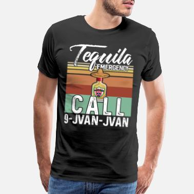 Beverage Tequila Alcohol Drinking Party Drink Shot Gift - Men's Premium T-Shirt