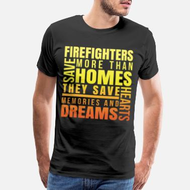 Team Turkey firefighter appreciation worker thank best - Men's Premium T-Shirt