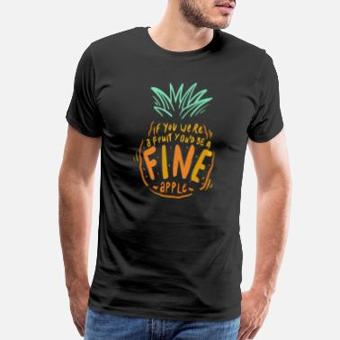 Fashionable pineapple ananas 4 - Men's Premium T-Shirt