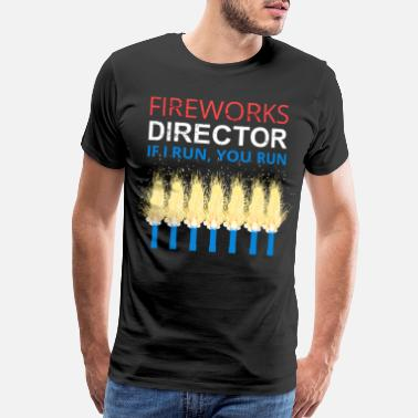 Explosion 4th of July Fireworks - Men's Premium T-Shirt