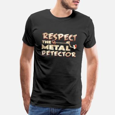 Gold Coins Metal detector respect gifts metal antique - Men's Premium T-Shirt
