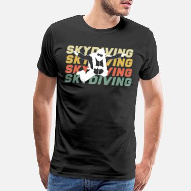 Paragliding Skydiving extreme sports - Men's Premium T-Shirt