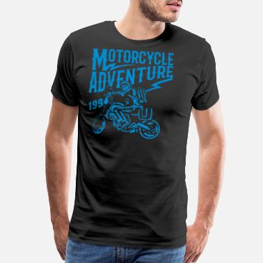 Motorcycle Adventure Motorcycle Adventure - Men's Premium T-Shirt