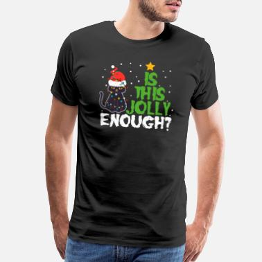 Reading Christmas Is This Jolly Enough? - Men's Premium T-Shirt