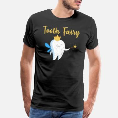 Teeth Dentist Tooth Fairy - Men's Premium T-Shirt