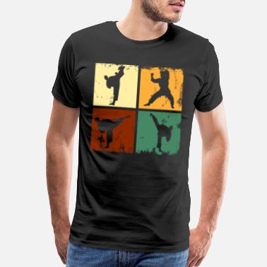 Kickboxing Karate - Men's Premium T-Shirt