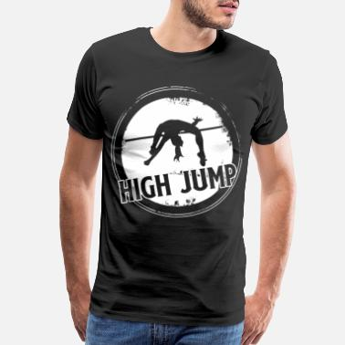 Jump Wisdom High Jump - Men's Premium T-Shirt