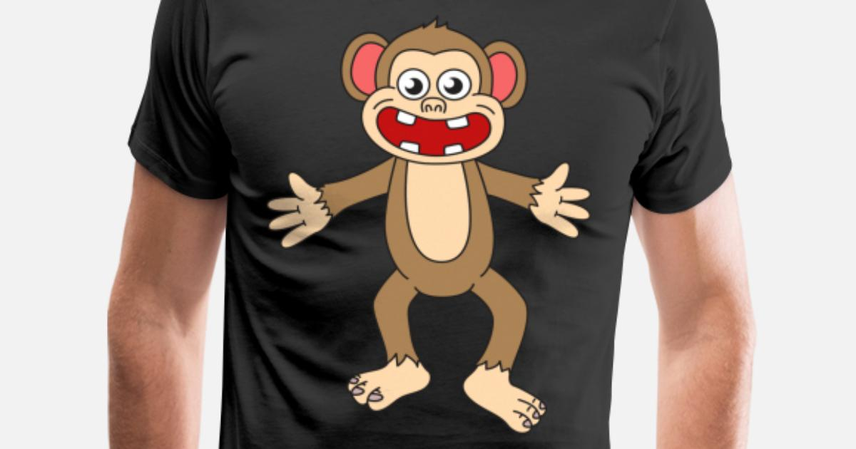 5eada17e Funny Monkey Men's Premium T-Shirt | Spreadshirt