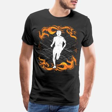 Race Track Running Exercise Training Gift Ideas T-Shirt - Men's Premium T-Shirt