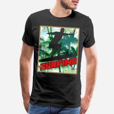 Point Break Surfing The Wave Rider Gift Ideas T-Shirt - Men's Premium T-Shirt
