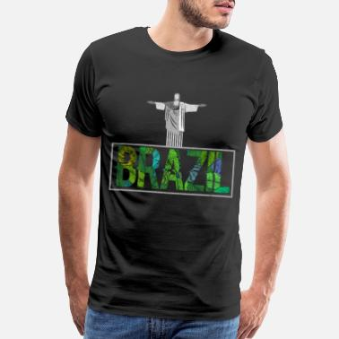 Any Brazil Christ the Redeemer Gift Ideas T-Shirt - Men's Premium T-Shirt