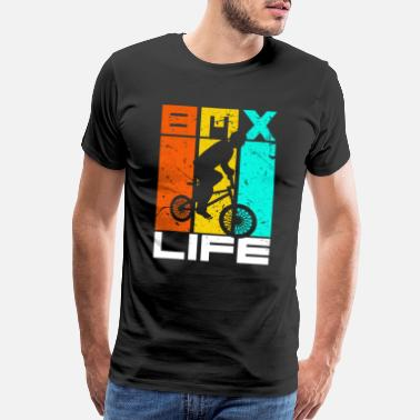Race Day Bike Motocross BMX Present Gift Idea T-Shirt - Men's Premium T-Shirt
