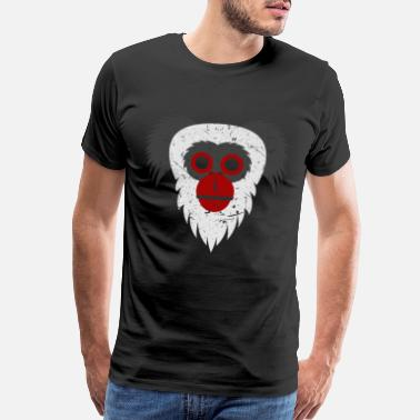Monkey Capuchin Monkey Face Animal Present Gift Shirt - Men's Premium T-Shirt