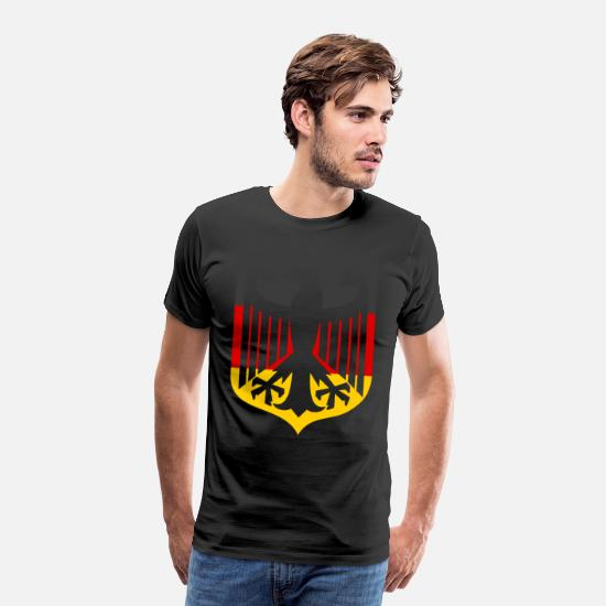 Flag Of Germany T-Shirts - Germany Flag Symbol Country Gift Idea - Men's Premium T-Shirt black