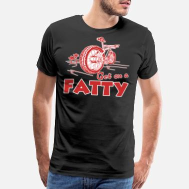 Fat Bike Fat Bike Shirt - Men's Premium T-Shirt