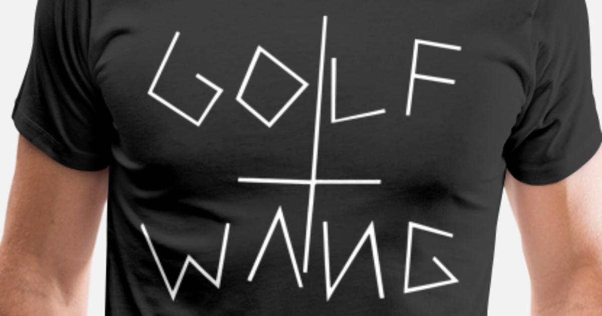 35ef15a940c0 Golf Wang Wolf Donuts dope Men s Premium T-Shirt