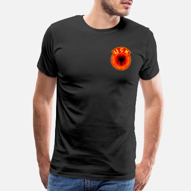 Uck UQK Army to give as a gift to a proud albanian - Men's Premium T-Shirt