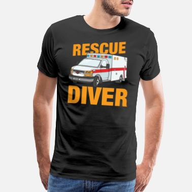 Rescue Team Rescue Diver - Men's Premium T-Shirt