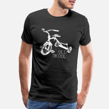 Tricycle Old school tricycle bike trike toys shirt - Men's Premium T-Shirt