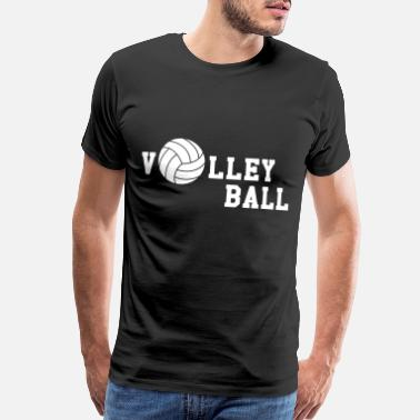 Volleyball Jokes Volleyball - Men's Premium T-Shirt