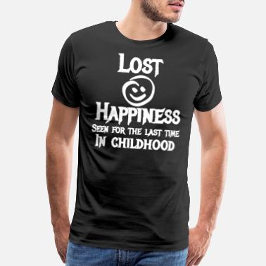Lost Happiness Seen For The Last Time In Childhood - Men's Premium T-Shirt