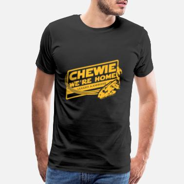 Solo Chewie - Awesome t-shirt for Han solo fans - Men's Premium T-Shirt