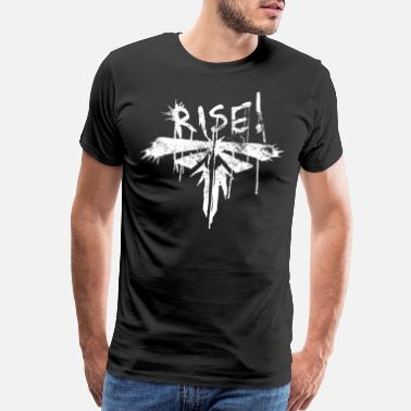 Us Rise the last of us - Men's Premium T-Shirt