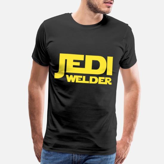 Mens Trust me im a Jedi T Shirt Star funny gift wars tee