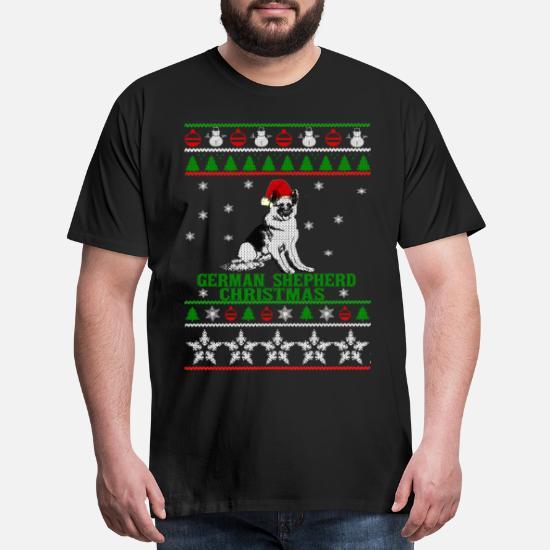 German Shepherd Christmas Sweater.Christmas Sweater For German Shepherd Lover Men S Premium T