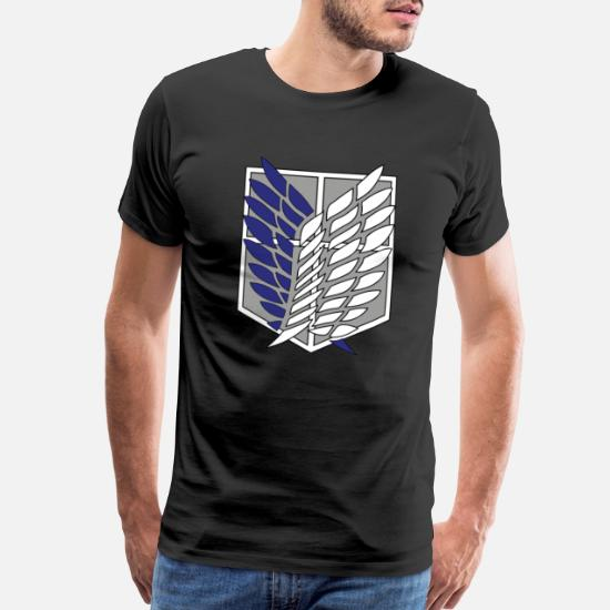 """ATTACK ON TITAN /""""SCOUTING LEGION// RECON CORPS/"""" T SHIRT"""