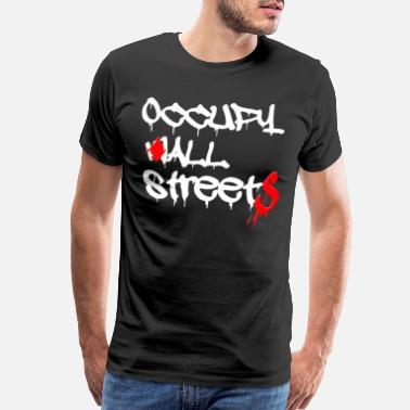 Occupy Wall Street occupy wall street - Men's Premium T-Shirt