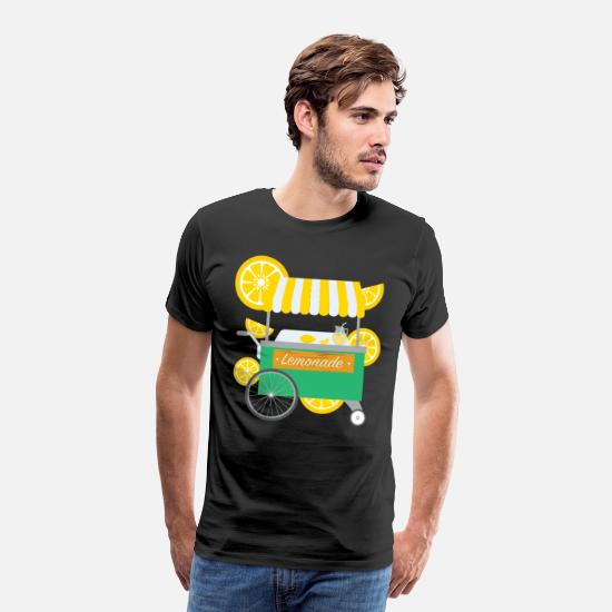 Lemonade T-Shirts - Lemonade Stand Citrus - Men's Premium T-Shirt black
