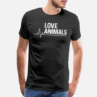 Animal Love Animal Love Animal Love - Men's Premium T-Shirt