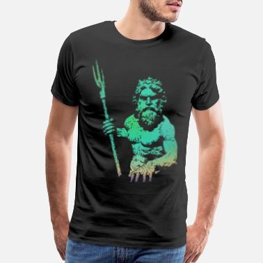 Sea KING NEPTUNE - Men's Premium T-Shirt