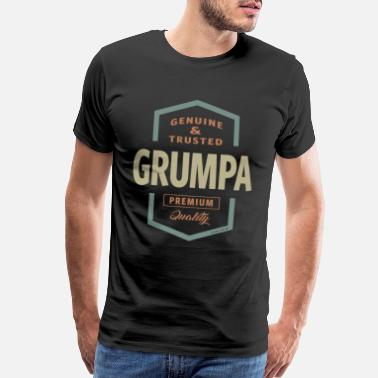 Grumpa Genuine Grumpa - Men's Premium T-Shirt