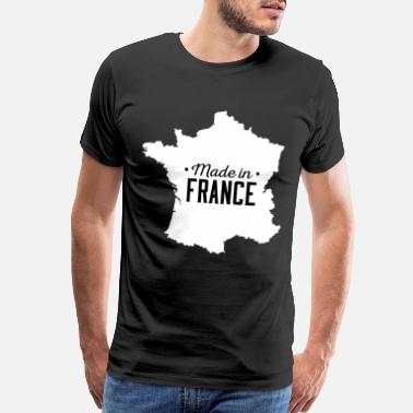 Francesca Made in France Made in Frankreich - Men's Premium T-Shirt